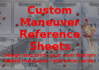 Go to Maneuver Reference Cards!